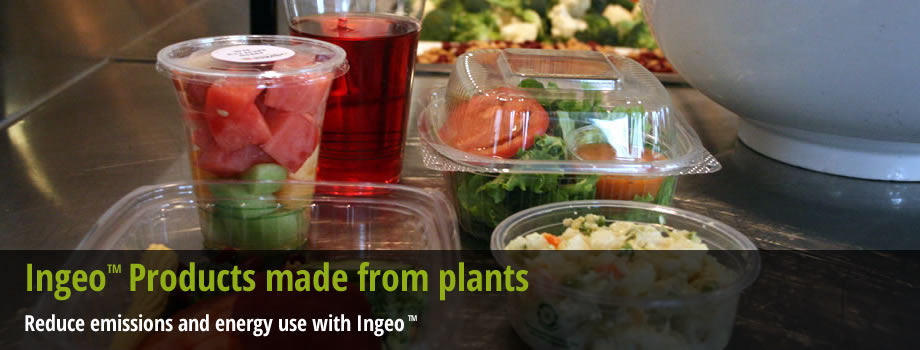IngeoTM Products made from plants